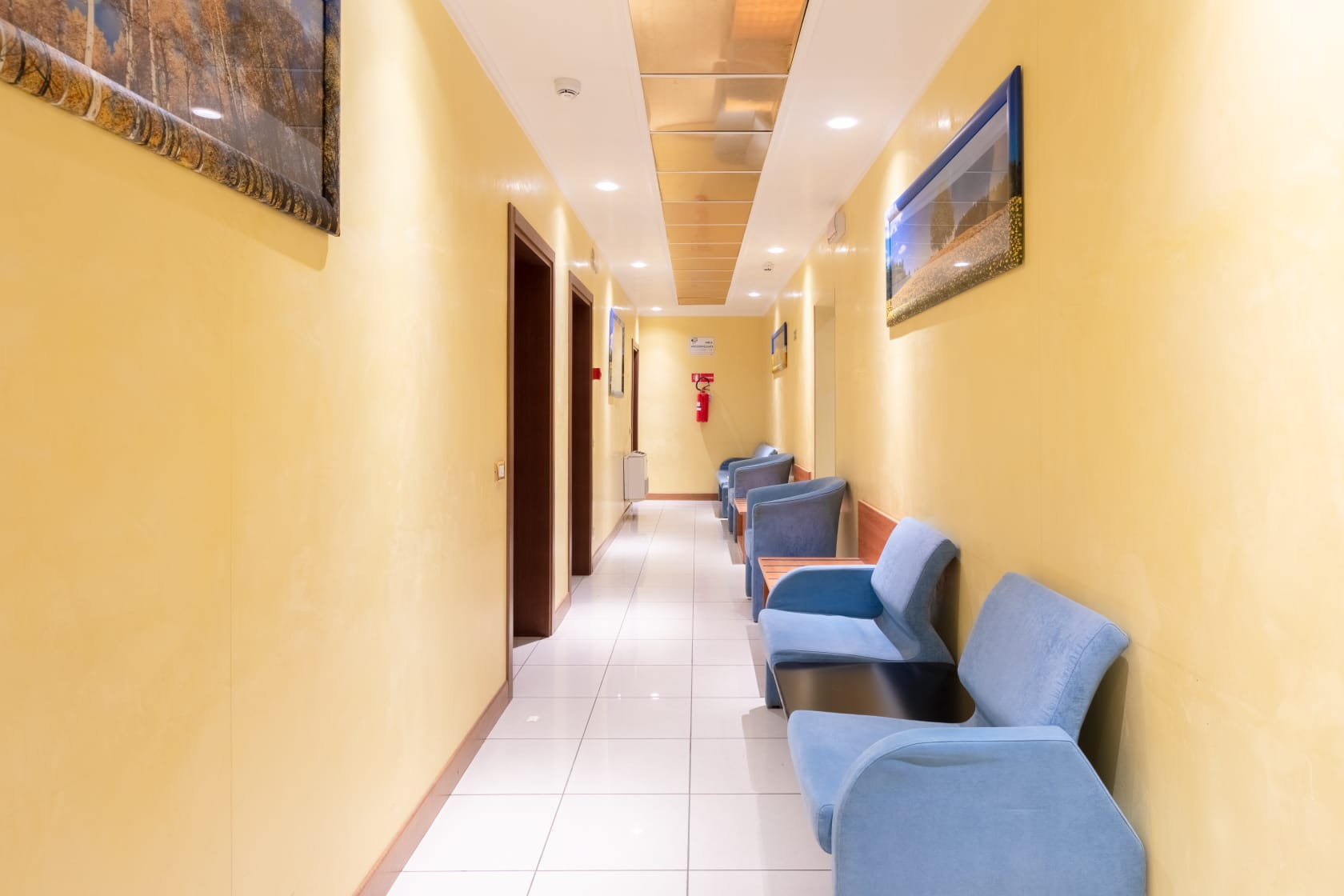 Corridoio di Accesso alle Camere - Albergo Nuova Aurora